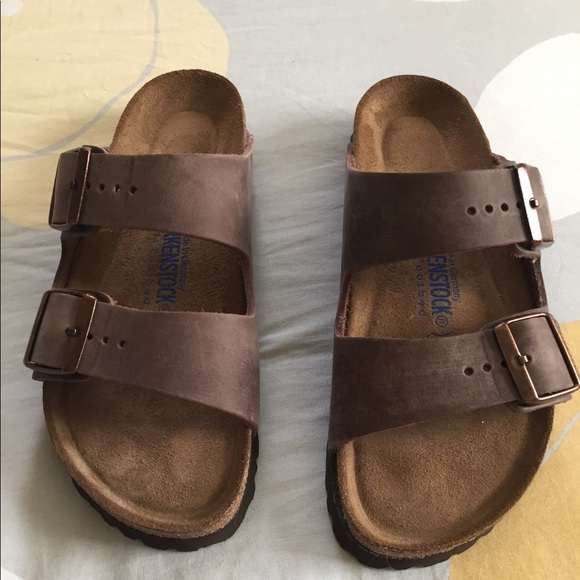 f488cafac77 Birkenstock Shoes - Birkenstocks! Arizona habana oiled size 38